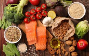 Collection of Healthy Foods